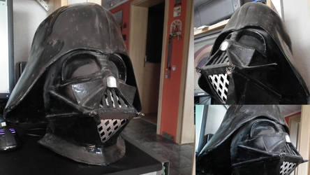 Darth Vader Pepakura Helmet by RennardFuchs