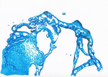 marker render water by cahaya-pemimpin