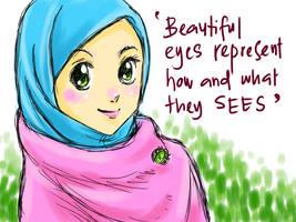 Eyes by cahaya-pemimpin