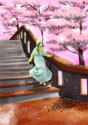 Stair walking by cahaya-pemimpin