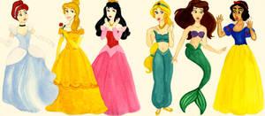 Disney Princess mix-up by charlotte-rhubarb
