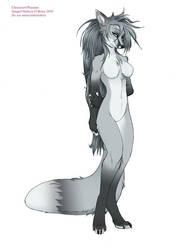 Paperdoll - Silver Fox by frisket17