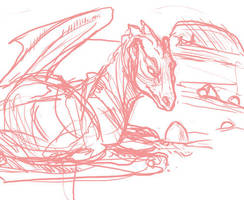 Pern: On the Sands - Sketch by frisket17
