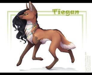 Tiegan Trotting - Maned Wolf by frisket17