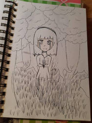 Wip rara as child lose in forest by Wind-Master13