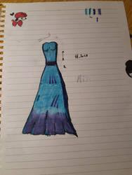 blue dress by Wind-Master13