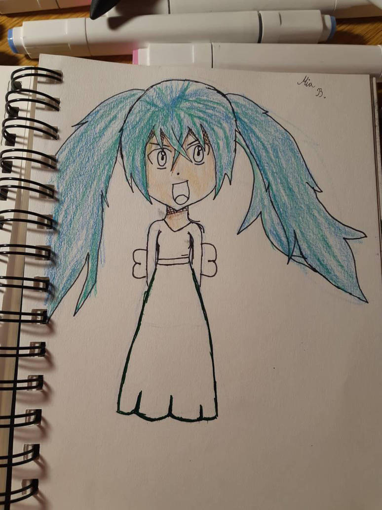 it's supposed to be a some girl from bacugan  by Wind-Master13