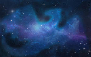 Blue Dragon Galaxy by xTheDragonRebornx