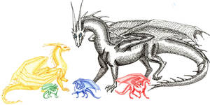 Inheritance Dragons by xTheDragonRebornx