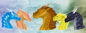 The Dragonets of Destiny by xTheDragonRebornx