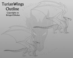 TurianWings Templates by xTheDragonRebornx