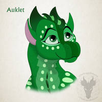 WoF H-a-D Day 31 - Auklet by xTheDragonRebornx
