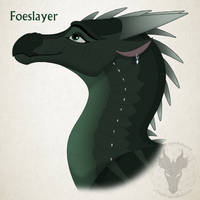 WoF H-a-D Day 39 - Foeslayer by xTheDragonRebornx