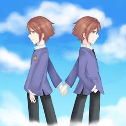 .:OURAN hikaru and kaoru:. by lisajong2