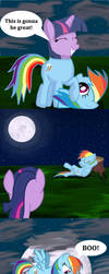 A Normal Equestrian Nightmare Night by MilesElectric