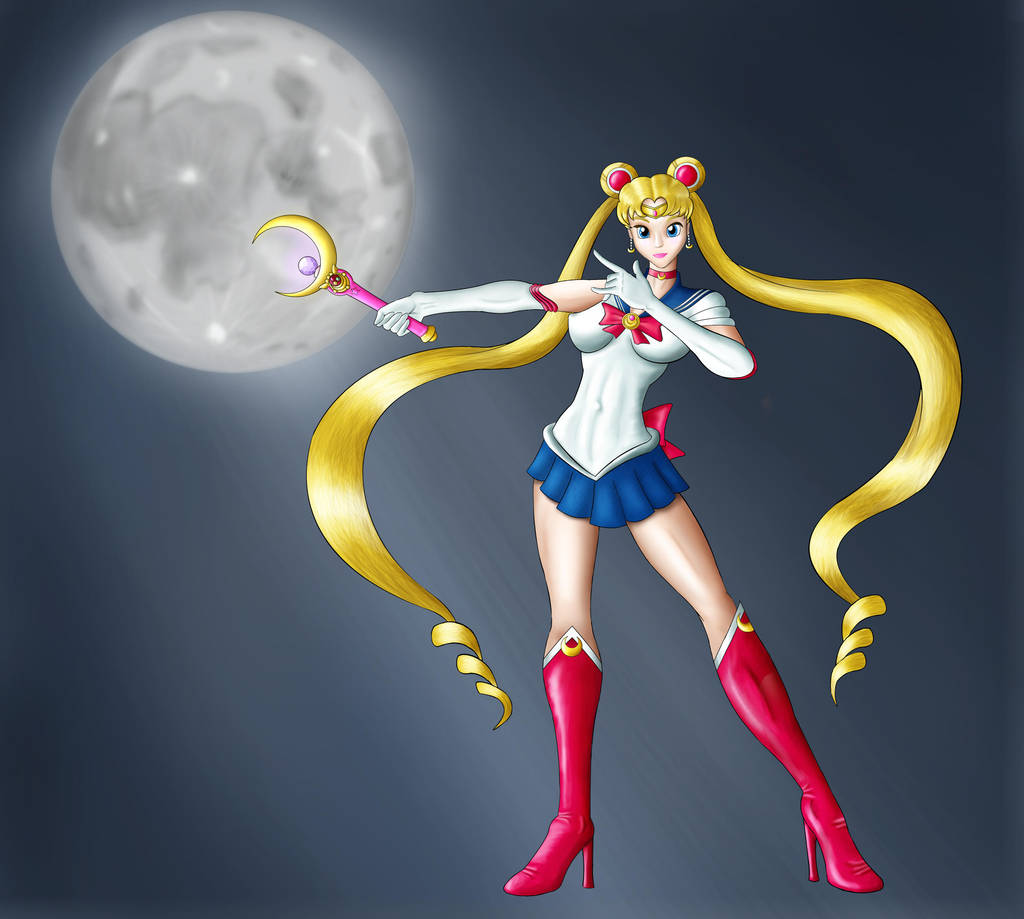 Sailor Moon By DiamondHour On DeviantArt