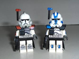 Arc Troopers Commanders by ArtFantom