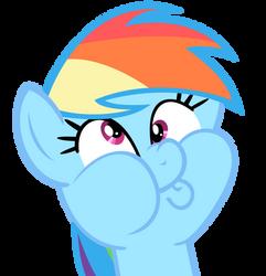 Rainbow's Derpy impression by beastywizard