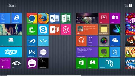 Windows 8 by nkien