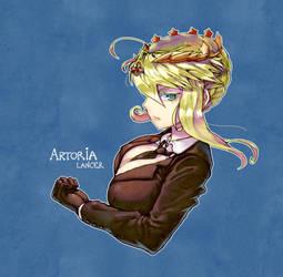 Lancer Artoria by TheGoldenSmurf