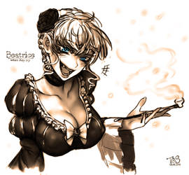 Beato b by TheGoldenSmurf