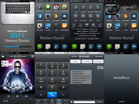 iPhone 4 MP2 HD Theme by Daniungarn