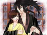 Rihan and Wakana Nura - comission by SkyeRei