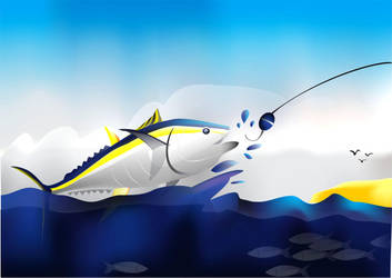 Save Fish Tuna From Illegal Fishing By Dindadinho On Deviantart