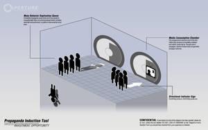 Portal 2 Propaganda Induction by wistfulwriter