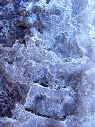 squares of ice chunks by synesthesea