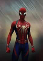 Spider-man (concept art) by SanyLebedev