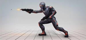 Sci-fi Suit SSL - 26 [Criminal] by SanyLebedev