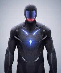 Sci fi Suit - SAR [Police] by SanyLebedev