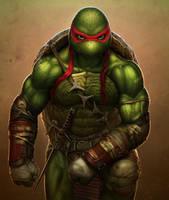Raphael (Teenage Mutant Ninja Turtles) by SanyLebedev