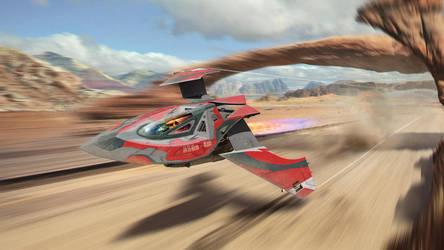 Futuristic Races: Sci-Fighter ASGs - 4m by SanyLebedev