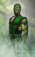 Reptile (Mortal Kombat Tribute) by SanyLebedev
