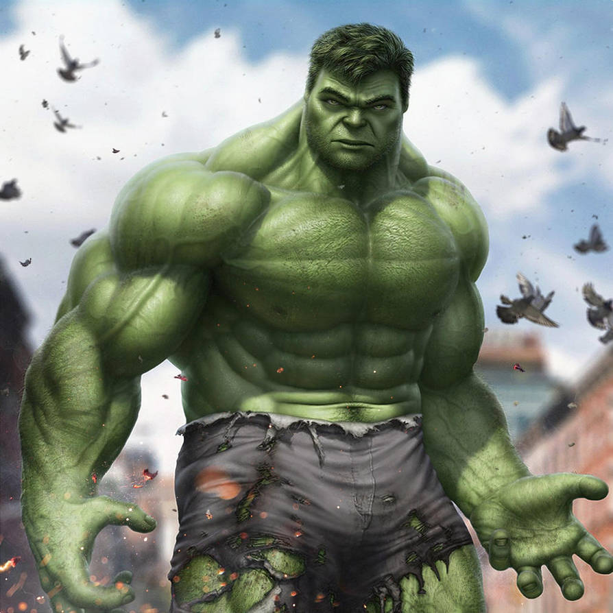 Hulk by SanyLebedev