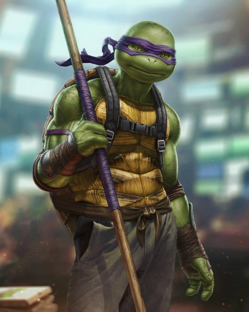 Donatello (TMNT) by SanyLebedev
