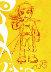 Gambit SD sketch by brunobottino