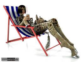 Giraffenpause by My-Rho