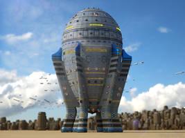 Spaceships... (II) by My-Rho