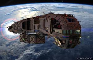 Space Ships. XVI. by My-Rho