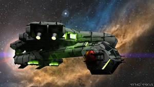 Space Ships.XXI. by My-Rho