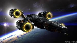 Space Ships.XXVIII. by My-Rho