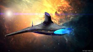 Space Ships. LVI. (56) by My-Rho