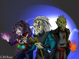 Team of the bad guys by GoldieMilrose