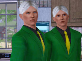 Valmont yin and yang  in Sims3 by GoldieMilrose