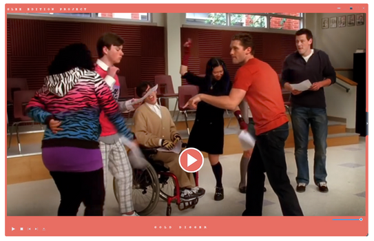 Video|Glee Season One |Gold Digger by GleeEdition-Project