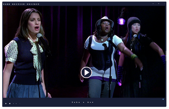Video|Glee Season One |Take a Bow by GleeEdition-Project