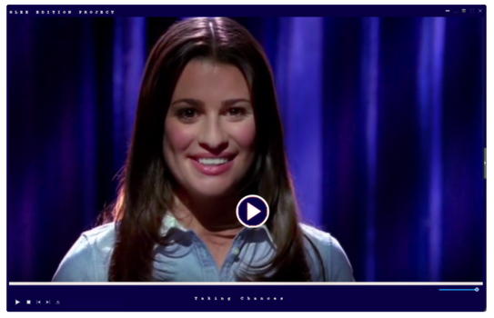 Video|Glee Season One |Taking Chances by GleeEdition-Project